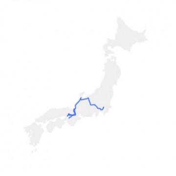 Osaka-Tokyo Hokuriku Arch Pass (7 Days)